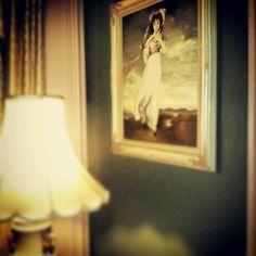 William Lemp Suite, Lemp Mansion, St. Louis - oh wow. my grandparents have this exact same picture.