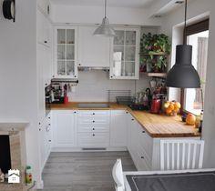 projekt 3 - Mała kuchnia, styl skandynawski - zdjęcie od Project Art Joanna Lipowska