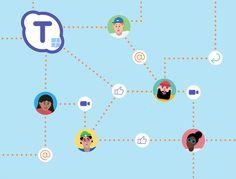 Skype Teams es la apuesta de Microsoft para competir contra Slack #Microsoft #Comunicacion #empresas