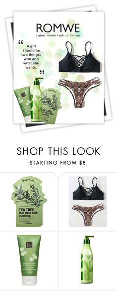 """Black Leopard Bikini Set"" by nabilazfr ❤ liked on Polyvore featuring GALA, Tony Moly, Rituals and Innisfree"