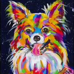 Love this acrylic painting from UGallery. Papillon by Tracy Miller