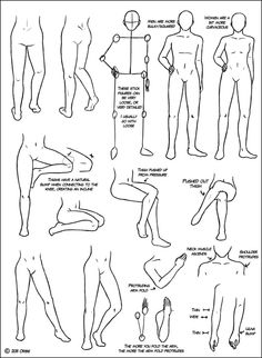 Leg Tutorial by ~DerSketchie on deviantART