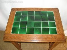 Arts And Crafts Tiled Top Occasional / Lamp Table - Antiques Atlas