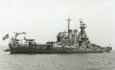 USS North Carolina  (BB-55) off Norfolk, VA June 1942