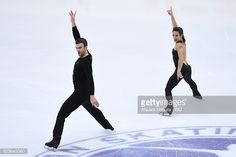 Meagan Duhamel and Eric Radford of Canada compete in the Pairs short program during the ISU Grand Prix of Figure Skating NHK Trophy on November 25, 2016 in Sapporo, Japan.
