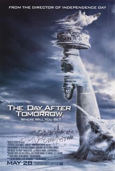 Roland Emmerich lectures us on global warming; about as blunt as chainsaw to the eyelid and as effective as a piece of bubble gum on a broken dam. Still remains a cheesy guilty pleasure with lots and lots and lots of guilty written all over it.