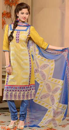 Cotton Churidar Dress, namaste fashion