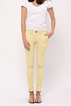 Chino Clyde Cimarron Light yellow