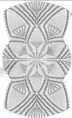 World Crochet Napkin 426 Filet Crochet, Col Crochet, Crochet Dollies, Thread Crochet, Crochet Motif, Crochet Stitches, Crochet Table Runner Pattern, Free Crochet Doily Patterns, Crochet Doily Diagram
