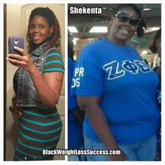 Weight Loss Story of the Day: Shekenta lost 159 pounds