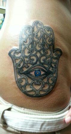 My Hamsa tattoo