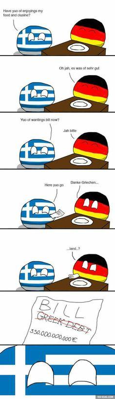 Good job Greece