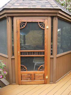Coppa Woodworking Wood Screen Doors and Wood Storm Doors ...