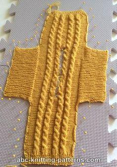 Free Doll Sweater Knitting Pattern