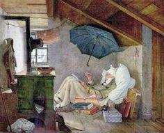 Spitzweg, Carl (1808-1885) - 1839 The Poor Poet