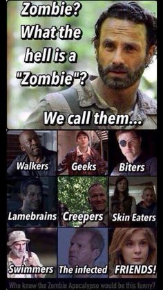 The Walking Dead Memes that live on after the characters and season ended. Memes are the REAL zombies of the show. Walking Dead Funny, Walking Dead Zombies, Carl The Walking Dead, The Walk Dead, Walking Dead Quotes, Walking Dead Coral, Walking Dead Cast, Twd Memes, Memes Humor