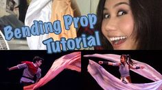 """Legend of Korra Bending Tutorial- These are some really cool props that you can make so it looks like you""""re bending. Perfect for an Avatar or Legend of Korra cosplay."""