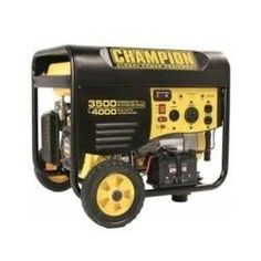 A portable generator can keep the lights, fridge and heat on for less than five hundred dollars. (Champion)