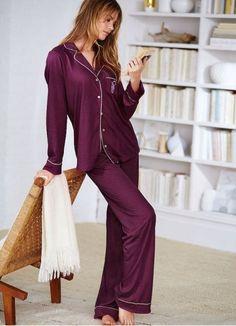 Victoria s Secret pijama seda