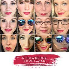 LipSense in Strawberry Shortcake - Distributor # 242192, *Click on image to order