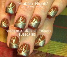fall nails | Arabian Nights Nail Art