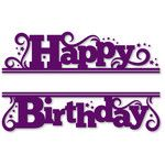 Welcome to the Silhouette Design Store, your source for craft machine cut files, fonts, SVGs, and other digital content for use with the Silhouette CAMEO® and other electronic cutting machines. Birthday Greetings, Birthday Wishes, Birthday Cards, Happy Birthday, Kirigami, Silhouette Cameo Projects, Silhouette Design, Silhouettes, Scrapbook Titles