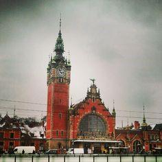 #Gdansk #station #train
