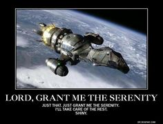 Of course there's the Enterprise in Star Trek. But then there's also Serenity :)