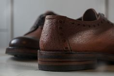 Waterproof specialists Norwegian Rain team up with Grenson to make The Waterproof Shoe.