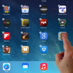 http://ipad.about.com/od/iPad_Guide/ss/iPad-101-New-Users-Guide-Install-Move-Delete-Folders_7.htm