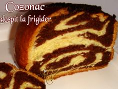 14 a cozonac Peach Yogurt Cake, Food Cakes, Sweet Bread, Baked Potato, Cake Recipes, Food And Drink, Sweets, Cookies, Ethnic Recipes