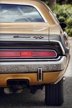 Gold '70 Challenger R/T - by Gordon Dean II