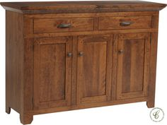 A unique storage solution for the bedroom or walk-in closet, the Roswell Rustic Cherry Sideboard is a timeless piece with endless possibilities.