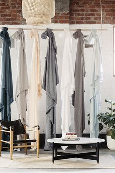 T.D.C: I Love Linen | New Collection + Showroom. (Styling by Stephanie Somebody, photography by Lauren Bamford)