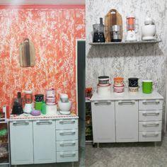 Reforma da cozinha: do laranja ao cinza! 🍊⬛