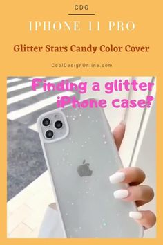 Looking for a new iPhone 11 Pro case? Finding iPhone 11 Pro case Protective? Browse new iPhone 11 Pro case Silicone? Finding an iPhone 11 Pro case Ideas? Browse through our various collections and choose your favorite today! We provide worldwide shipping all of the orders! #iphonecase #caseiphone #casesiphone #caseforiphone #caseiphone11pro Iphone 11 Pro Case, New Iphone, Iphone Cases, Glitter Stars, White Glitter, Candy Colors, Collections, Cover, Ideas