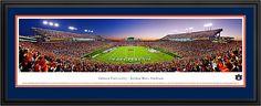 Auburn University Tigers - Jordan Hare Stadium Panoramic Picture $199.95