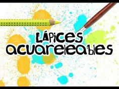Técnicas de Ilustración 15 LÁPICES ACUARELEABLES cap. 1 (Faber-Castell,Art grip, Creative Studio) - YouTube