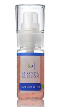 Rhonda Allison Raspberry Lotion - great toner for acne and to control/balance oil