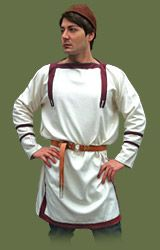 This style is seen in mosaics and frescos (Dura europos) Materials: Wool + woolen bands Roman Clothes, Roman Fashion, Renaissance Costume, Dark Ages, Byzantine, Medieval, Tunic, Costumes, How To Wear