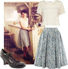 Mary Margaret Blanchard Outfit - Lonely Hunter. I just love her and her clothes and her house. Ok.