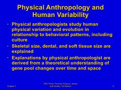 anthropology thesis ideas