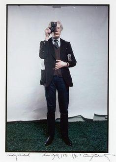 Warhol, 1976 by Annie Leibovitz