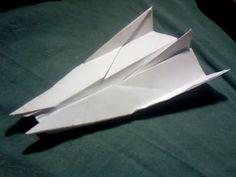 Como hacer un avion de papel, modelo 19