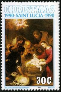 Adoration of the shephards, by Murillo