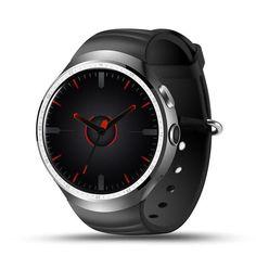 LEMFO LES1 Android 5.1 OS 1GB+16GB MTK6580 Smart Watch Phone Support SIM Card GPS Wifi 3G Reloj Inteligente Smart Wristwatch