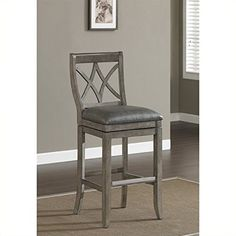 American Heritage Billiards Hadley Counter Height Stool Grey * You can find out more details at the link of the image. (Amazon affiliate link)