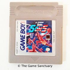 Double #dribble 5 on 5 | #nintendo game boy #video game (cart only),  View more on the LINK: 	http://www.zeppy.io/product/gb/2/271286586531/