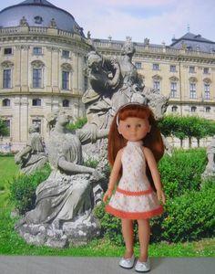 Ensemble veste à manches courtes et robe pour poupée Chérie - http://p5.storage.canalblog.com/54/70/1066432/99398896.pdf