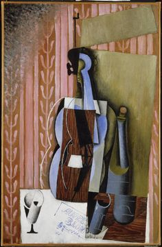 The Violin by Juan Gris, oil on canvas, 1913 | Philadelphia Museum of Art